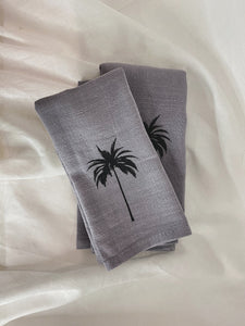 Palm Linen Napkin - set of 2