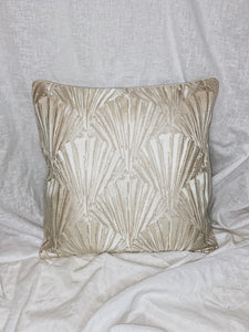 Champagne Shell Cushion Cover