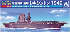 USS Aircraft Carrier Lexington - Chester Model Centre