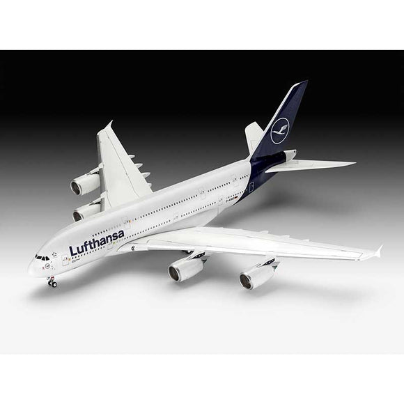 "Revell 03872 1/144 Airbus A380-800 Lufthansa ""New Livery"" - Chester Model Centre"