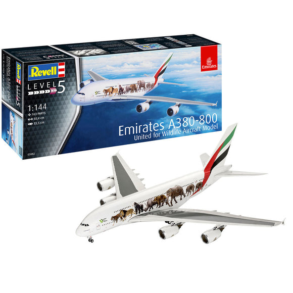 Emirates A380-800 United For Wildlife - Chester Model Centre