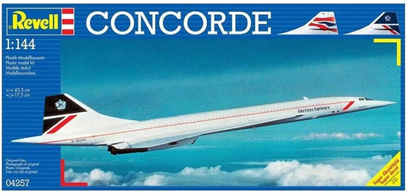 Revell 04257 1/144 Concorde Model Kit - Chester Model Centre