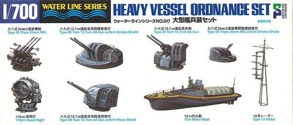 Heavy Vessel Ordnance Set - Chester Model Centre