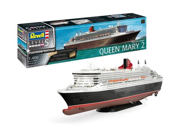 Queen Mary 2 Platinum Edition - Chester Model Centre