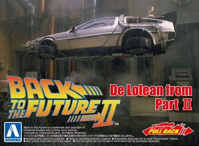 Back to the Future Part 2 DeLorean - Chester Model Centre