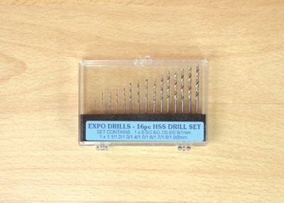 16PC HSS DRILL SET 0.5 - 2.0MM