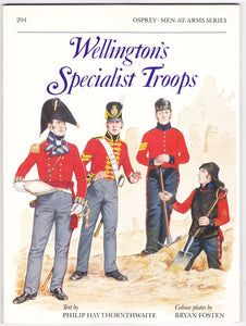 Wellington's Specialist Troops - ChesterModelCentre