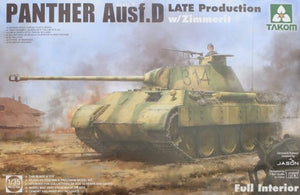 Panther Ausf.D Late Production w/Zimmerit & Full Interior - Chester Model Centre