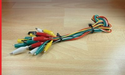 SET OF 10 TEST LEADS - chestermodelcentre