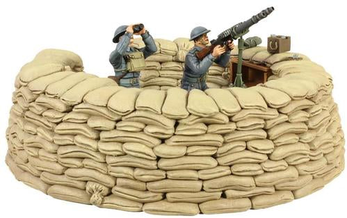 RAF Lewis Gun Emplacement - 5 Piece Set Ltd. Ed. 400 - Chester Model Centre
