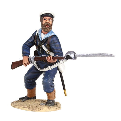 British Naval Brigade Sailor Standing Defending with Bayonet - Chester Model Centre