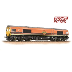 Bachmann 32-739SF Class 66/4 66419 Freightliner G&W (DCC Sound)