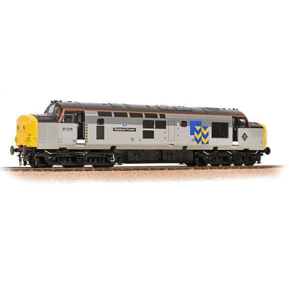 32-778RJ Bachmann Rep Area Special -  37275 Stainless Pioneer BR Railfreight Livery - Chester Model Centre