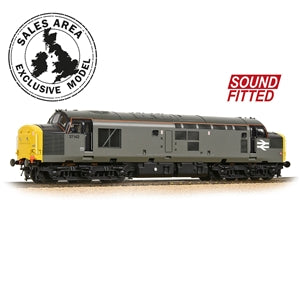 Bachmann 32-788DBDS Class 37/0 37142 BR Engineers Grey (DCC Sound)