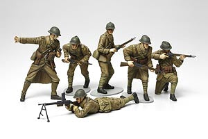 WWII French Infantry Set - ChesterModelCentre