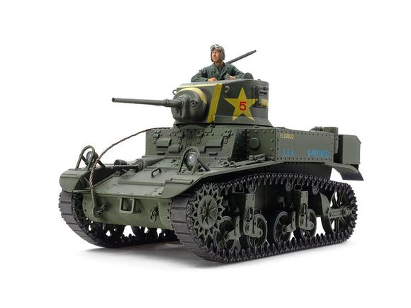 M3 Stuart Late Production U.S. Light Tank - Chester Model Centre