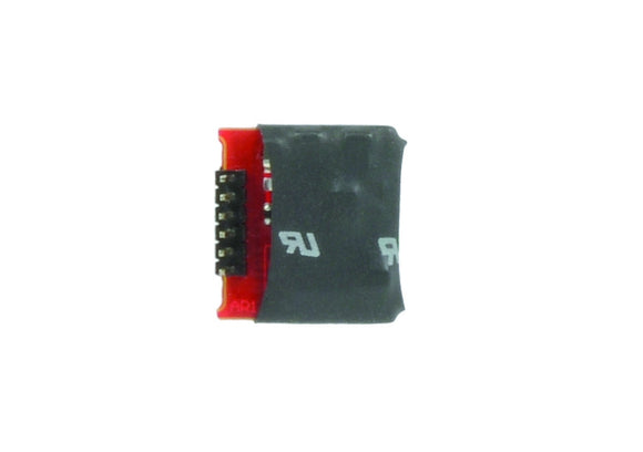 E-Z Command 90° 6 Pin DCC Decoder (DC Compatible) + Back EMF