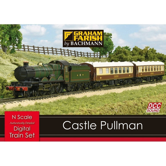 Castle Pullman Train Set with DCC Sound - Chester Model Centre