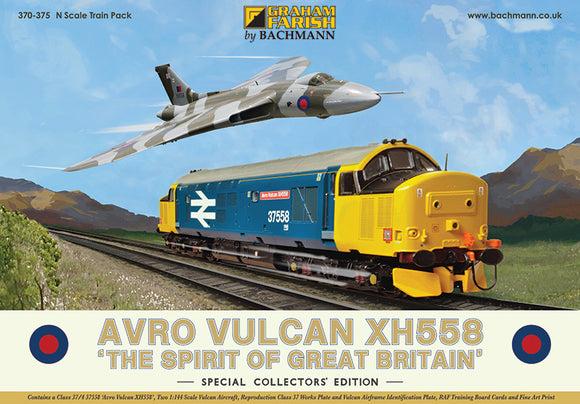 Avro Vulcan XH588 'The Spirit of Great Britain' Special Collector's Edition - ChesterModelCentre