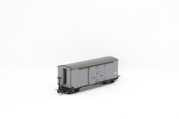Covered Goods Wagon Nocton Light Grey - Chester Model Centre