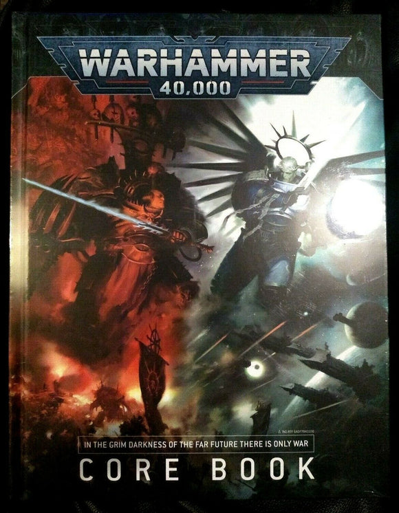 Warhammer 40000 9th Edition Core Rulebook - Chester Model Centre
