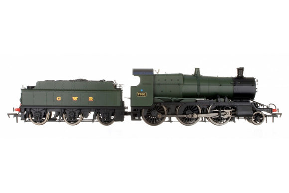 Dapol OO Gauge 4S-043-003 2-6-0 Mogul 7301 Green GWR & BR Smoke Box Number Plate - Chester Model Centre