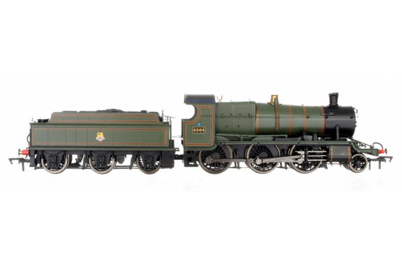 Dapol OO Gauge 4S-043-005 2-6-0 Mogul 6364 BR Green Early Crest - Chester Model Centre