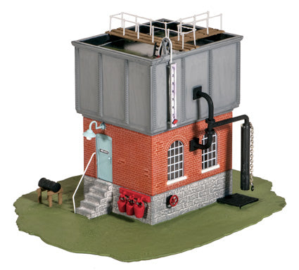 Ratio OO Gauge 506 Square Water Tower Kit - Chester Model Centre