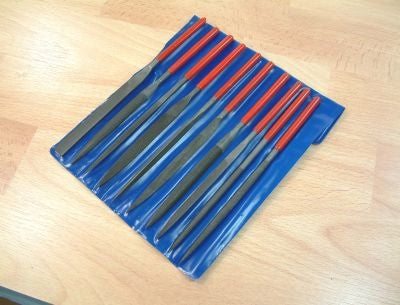 10pc WARDING FILE SET 180 X 5MM