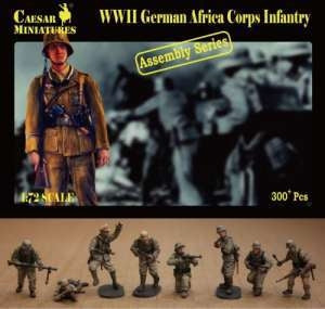 WWII German Africa Corps Infantry - ChesterModelCentre