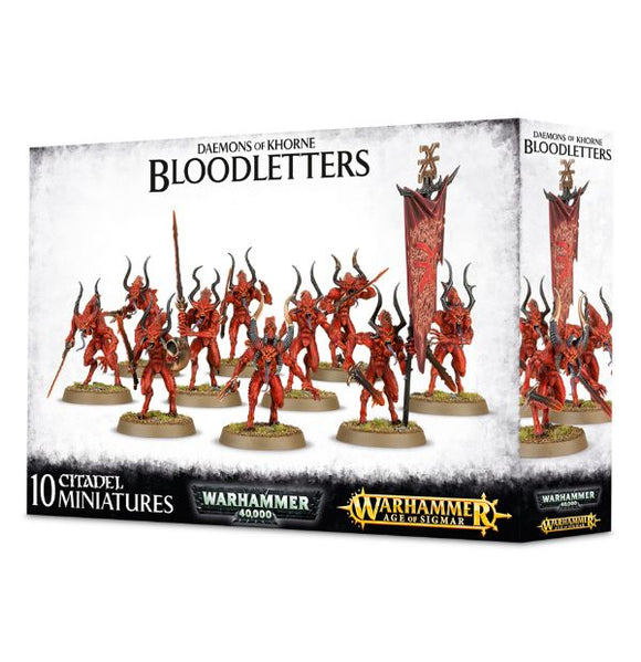 Daemons of Khorne Bloodletters - Chester Model Centre