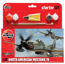 North American Mustang IV Starter Set 1:72 - Chester Model Centre