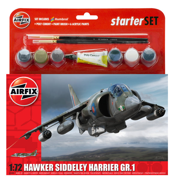 Hawker Harrier GR1 Starter Set - Chester Model Centre