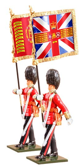 The Queen's Diamond Jubilee Set, The Guards Colours, Irish Guards - Chester Model Centre
