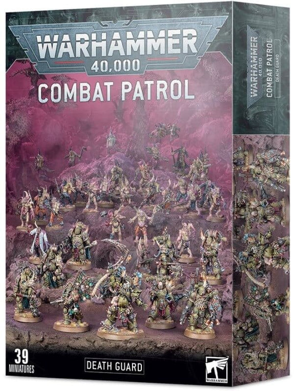 Death Guard Combat Patrol - Pre-Order Available 23rd January - Chester Model Centre