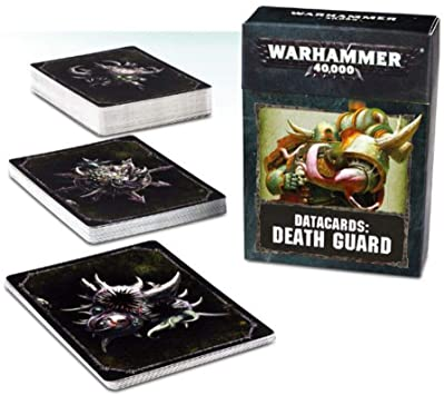 Death Guard Datacards - Pre-Order Available 23rd January - Chester Model Centre