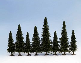 Bulk Pack Trees - Fir (25) - Chester Model Centre