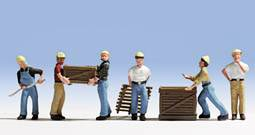 Workers with Pallets (6) - ChesterModelCentre