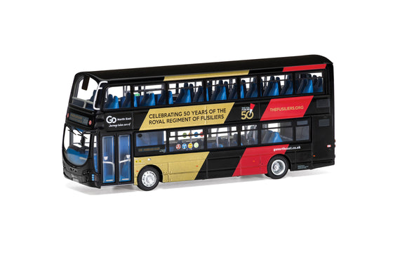 Wright Eclipse Gemini 2  Go North East NL63 XCB  Route X10 Newcastle Royal Fusilliers - Chester Model Centre