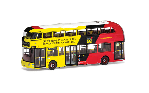 Wrightbus New Routemaster  GoAhead London  LTZ 1394  Route 15 Blackwall  Royal Fusilliers - Chester Model Centre