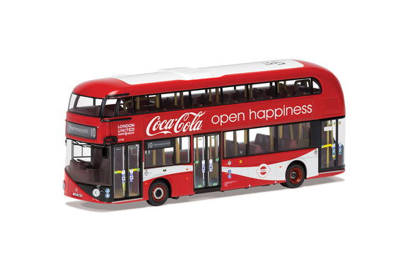 Wrightbus New Routemaster London United LTZ 1148 Route 10 Hammersmith Coca Cola - Chester Model Centre