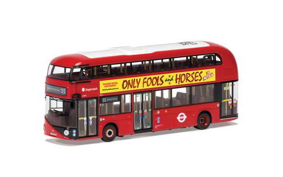 Wrightbus New Routemaster Only Fools and Horses Stage Show Route B Route 73 Stoke Newington - Chester Model Centre