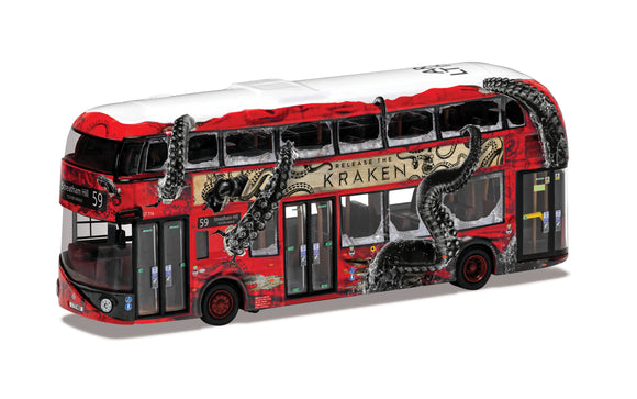 Wrightbus New Routemaster'release the Kraken'- Special Edition Route B - Chester Model Centre