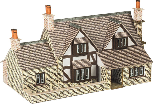 PN167 N Gauge Town End Cottage - Chester Model Centre