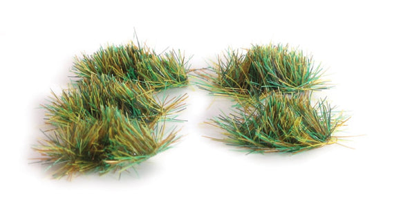 4mm Self Adhesive Grass Tufts Assorted - Chester Model Centre