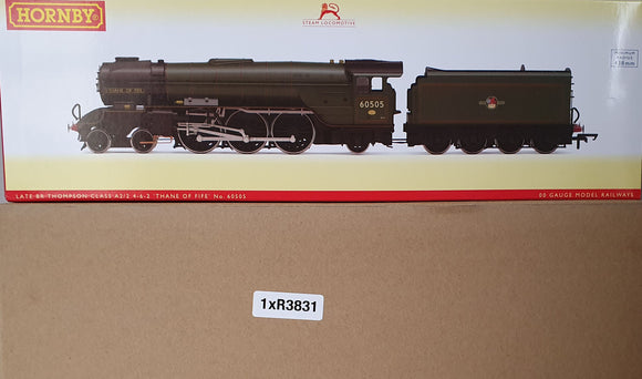 Hornby R3831 BR, Thompson Class A2/2, 4-6-2, 60505 'Thane of Fife' - Era 5 - Chester Model Centre