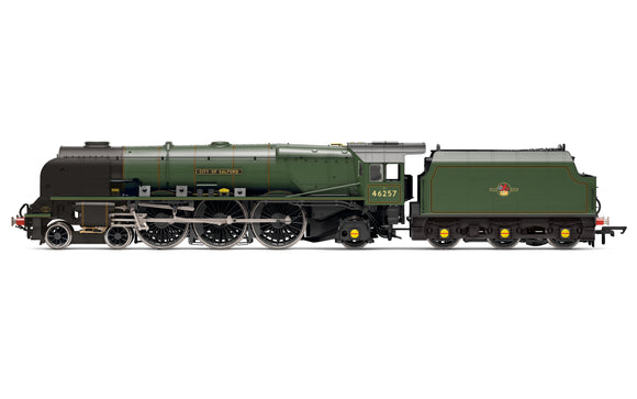 Hornby R3856 BR Princess Coronation Class, 4-6-2, 46257 'City of Salford' - Era 5 - Chester Model Centre