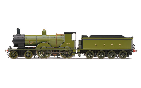 Hornby R3863 LSWR, Class T9, 4-4-0, 120 - Era 2 - Chester Model Centre