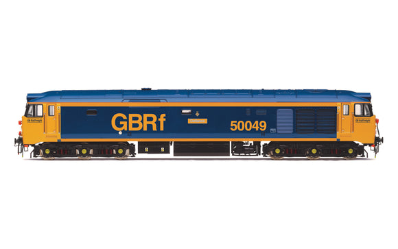 Hornby R3883 OO Gauge Class 50 Defiance 50049 GBRF Livery - Chester Model Centre