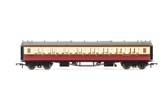 Hornby R4684A BR, Collett 'Bow-Ended' Corridor Third, W4910W - Era 4 - Chester Model Centre